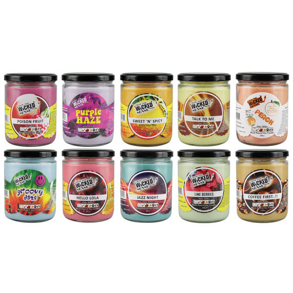 Wholesale Wicked Sense 13oz Soy Candles