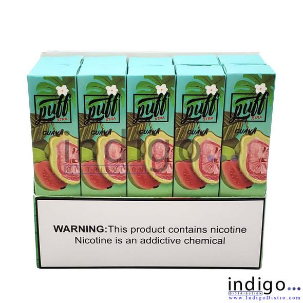 Wholesale Puff Xtra 1500 PUFFS Disposable Vape - Guava