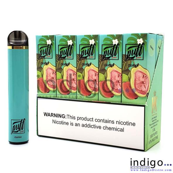 Puff Xtra 1500 PUFFS Disposable Vape - Guava
