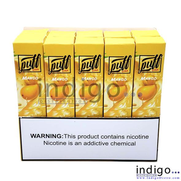 Wholesale Puff Xtra 1500 PUFFS Disposable Vape - Mango