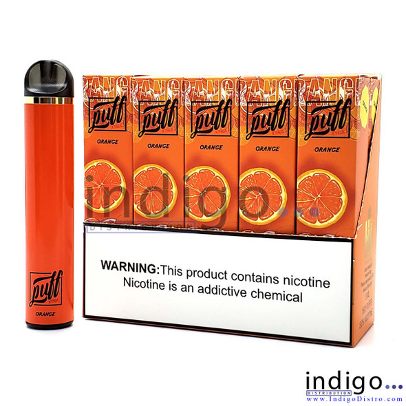 Puff Xtra 1500 PUFFS Disposable Vape - Orange