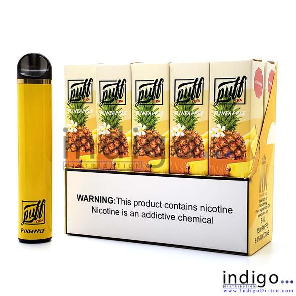 Puff Xtra 1500 PUFFS Disposable Vape - Pineapple