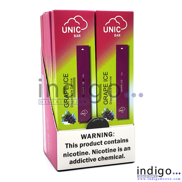 Unic Bar Disposable Vape - Grape Ice