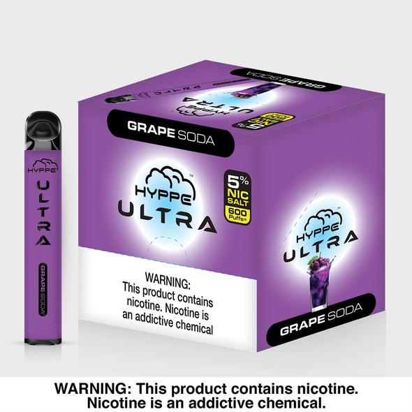 Hyppe Ultra Disposable Vape - Grape Soda