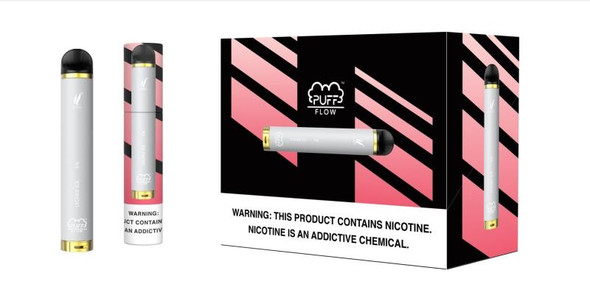 Wholesale Puff Flow 1,000 Puffs Disposable Vape 10 pack - Lychee Ice