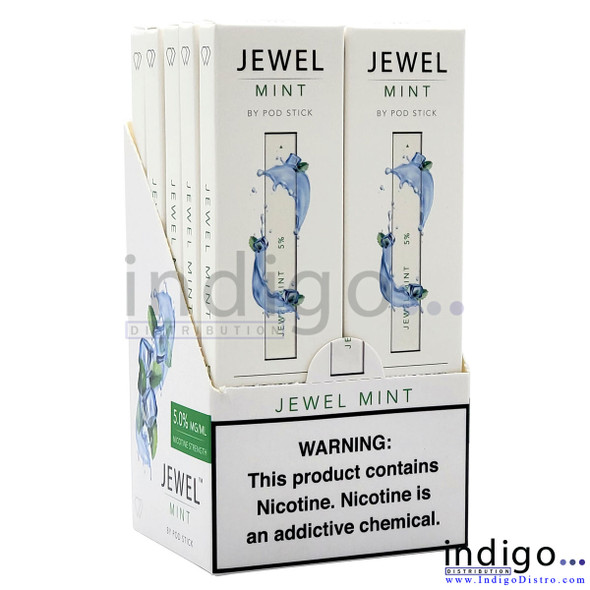 Pod Juice Jewel Disposable Vapes - 10 pack - Mint