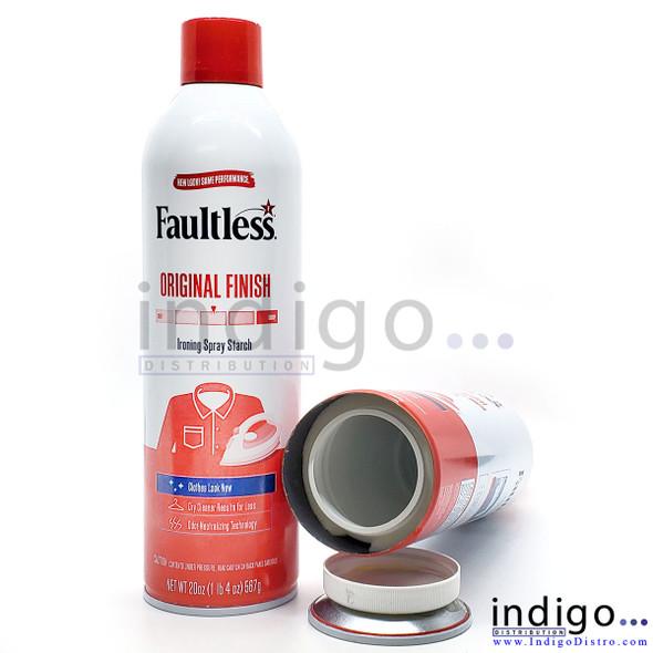 Faultless Ironing Spray Stash Can