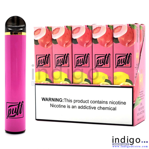 Puff Xtra 1500 PUFFS Disposable Vape - Peach Lemonade
