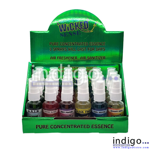 Wholesale Wicked Sense 1 ounce air spray sanitizers