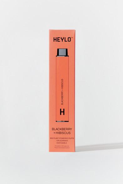 HEYLO - Disposable  800 Puffs - Blackberry Hibiscus