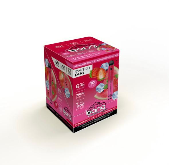 Wholesale Bang XXL Switch Duo disposable vape box of 10