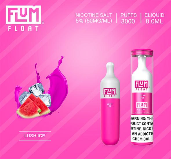 Flum Float Disposable Vape 3,000 Puffs lush ice