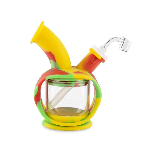 Wholesale Ooze Kettle Silicone Water Pipe rasta