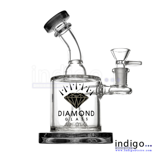 Wholesale Diamond Glass Gold Water Pipes
