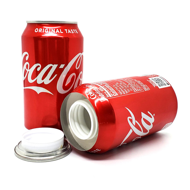 Coke stash can