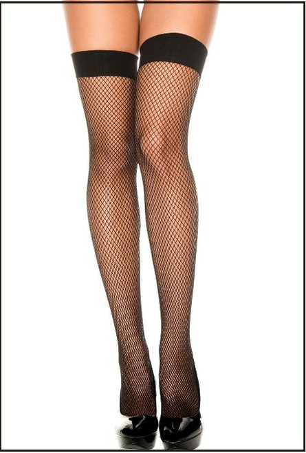 Small Diamond Fishnet Black