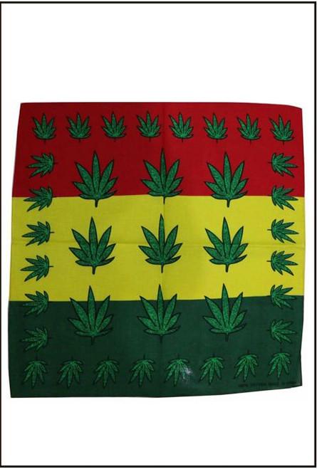73508 Hippie Dope leaf Bandana