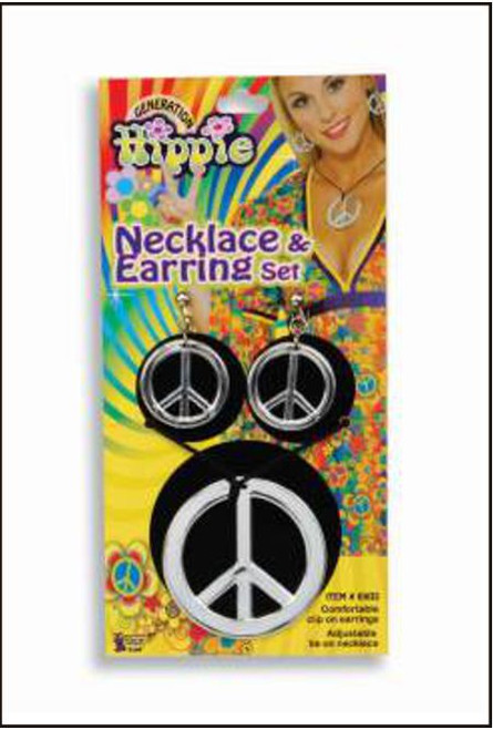 73508 Hippie Necklace and earrings set