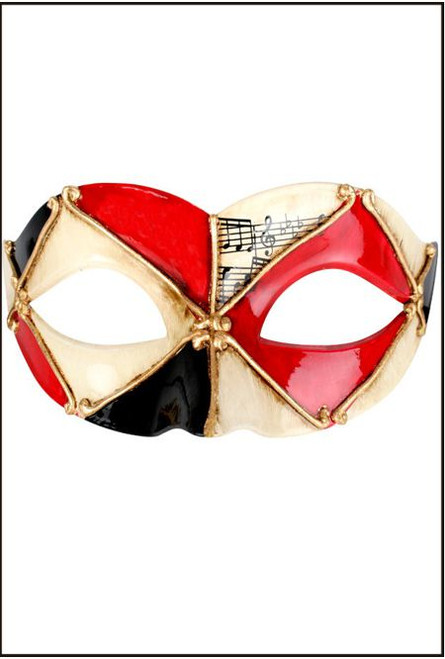 73223 PIETRO Red & Black Eye Mask red