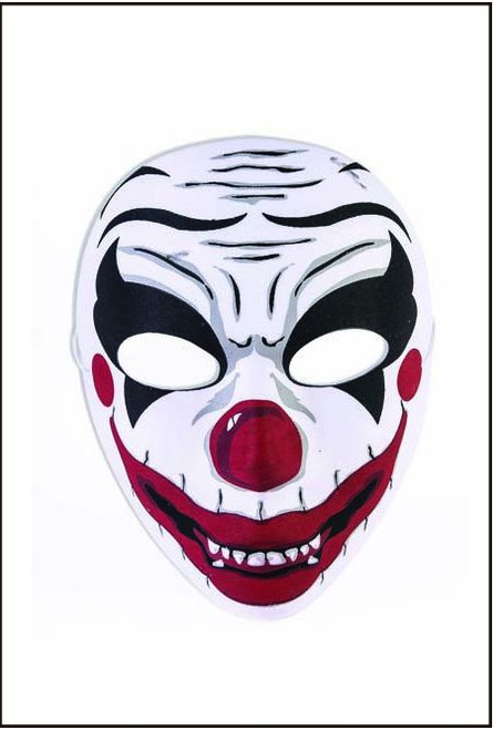 72384 Evil clown mask