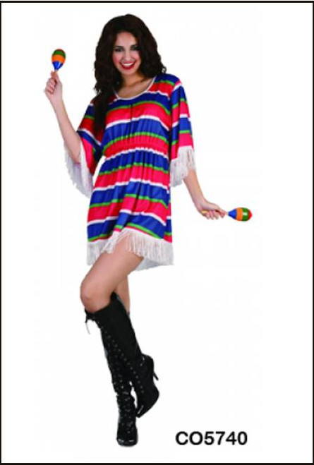 88318 mexican girl fancy dress party costume