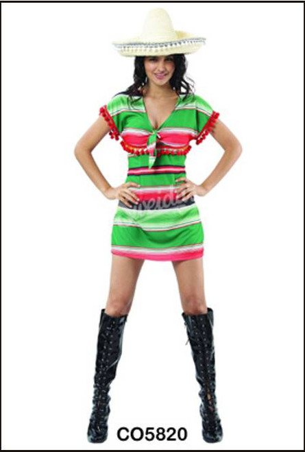 88314 Mexican girl fancy dress party costume