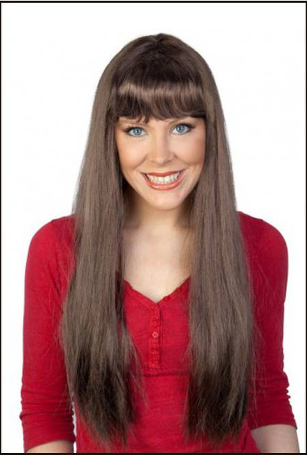 Long Brown Jessica Wig