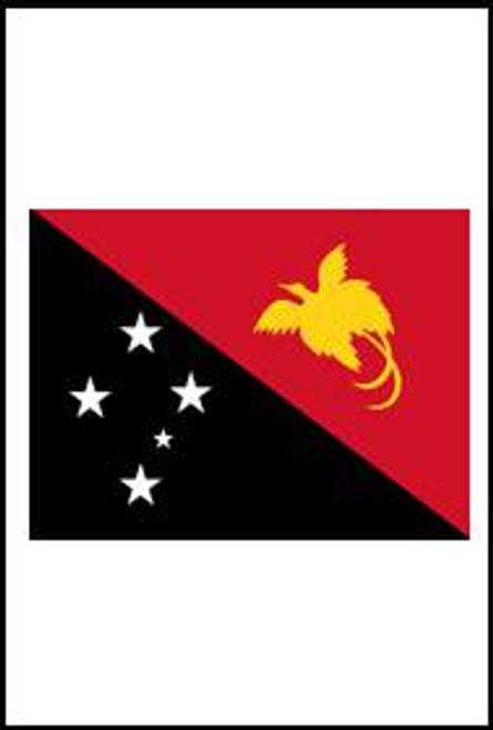 77542 Papua New Guinea flag