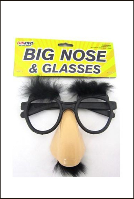 Big Nose Glasses with Moustache