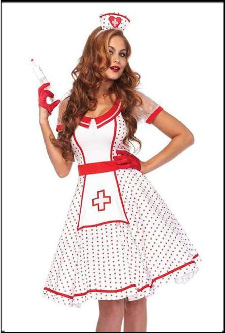 Sexy BedSide Betty Nurses Famcy Dress Costume.