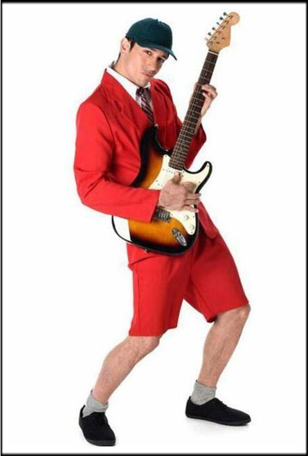 Mens 5 Piece School Boy Rocker Set Fancy Dress Costume.