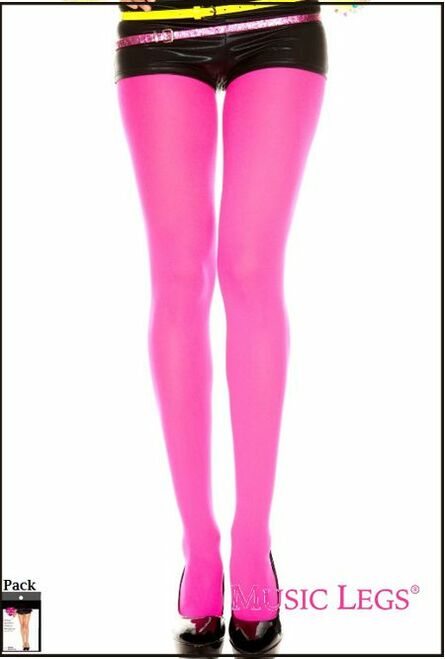73254 Opaque Pantyhose Pink