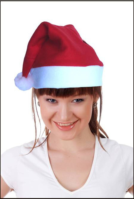 Christmas santa hat for fancy dress party costume