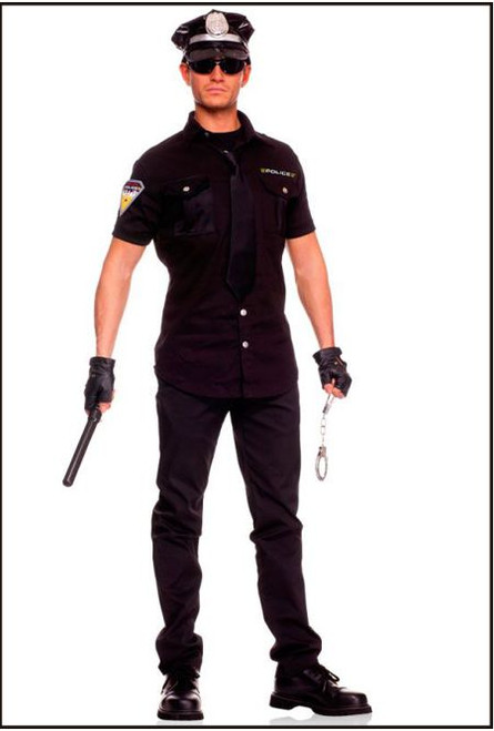 47017 Police man 5 pcs Costume