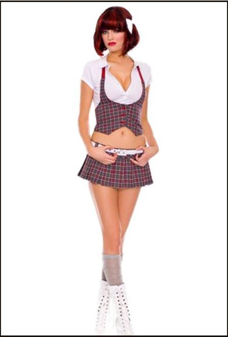 47042 college cutie school girl costume