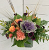 Fresh Autumn Assortment with Kale and Wheat