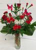 """""""Butterfly Love"""" Fresh Vase"""