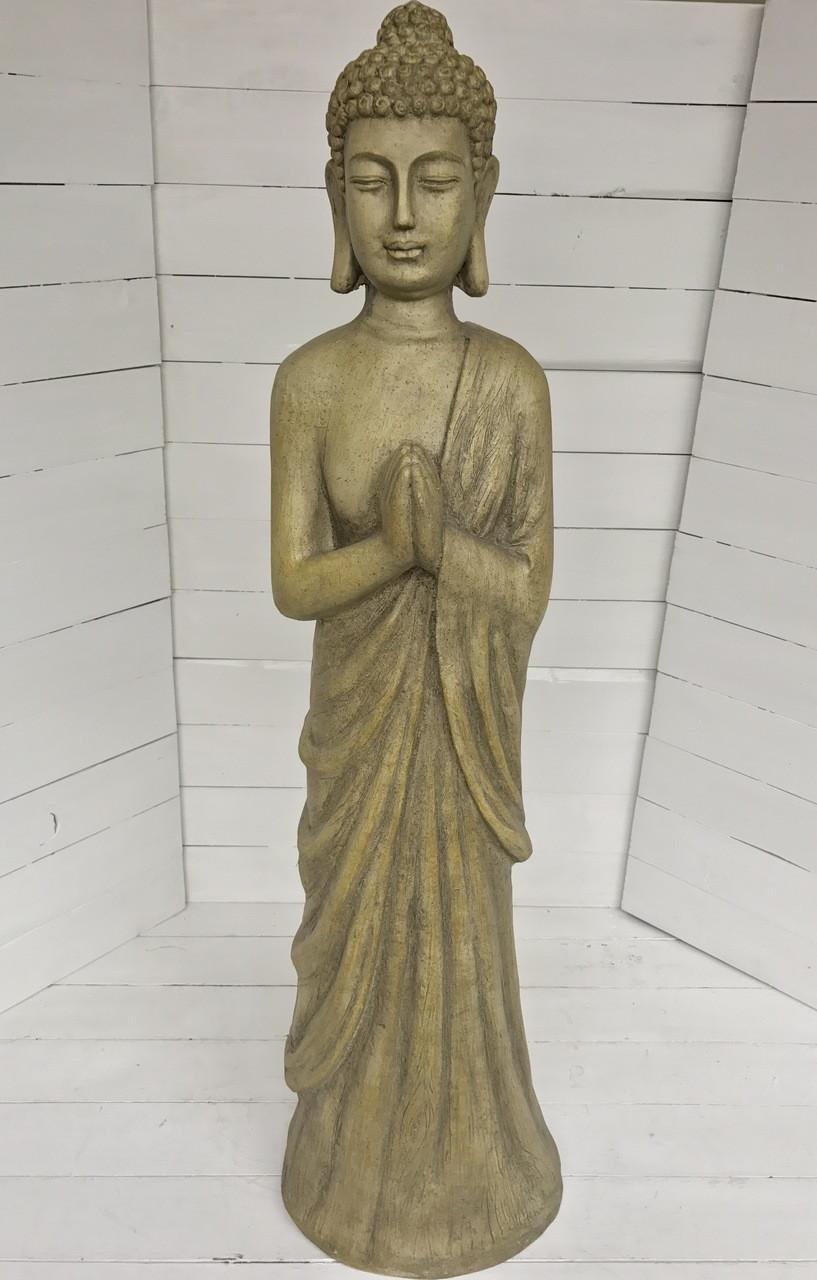40 Standing Buddha Garden Statue Resin Centerville Florists