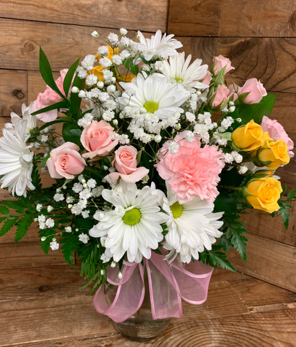 Fresh Spring Mixed Vase