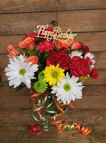 Fresh Cut Birthday Bouquet