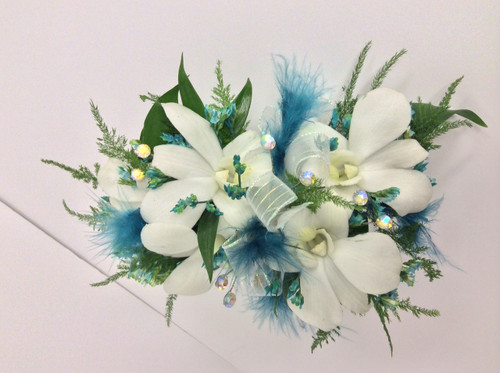 5 Bloom Dendrobium Orchid Corsage