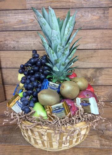 Fresh Fruit and Chocolate Basket