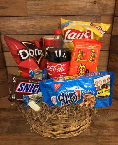 """Large """"junk food"""" Basket"""