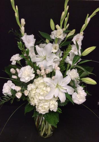 Simple Sophistication Vase for Sympathy