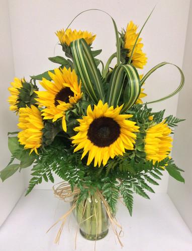 Sunflower Garden Vase