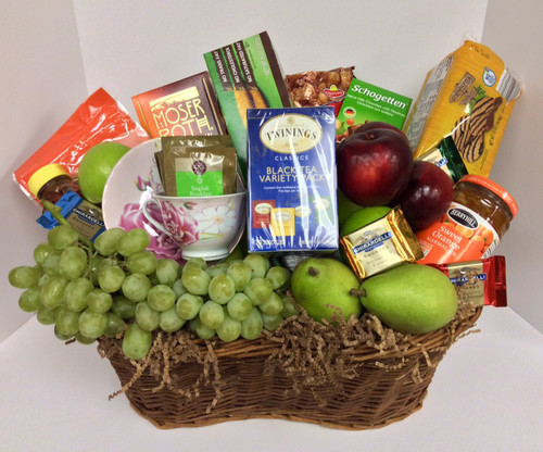 Tea, Biscuits, Jelly, and More Gourmet Basket