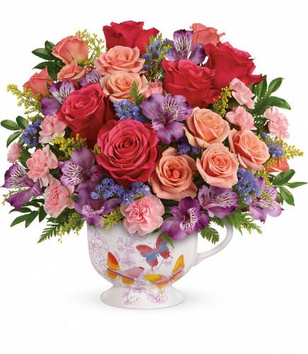 Teleflora's Wings Of Joy Bouquet