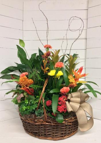 Big Autumn Planter Basket