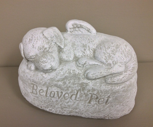 """Beloved Pet"" Dog Statue"