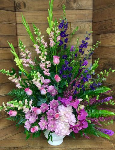 """""""Purple and Pink Passion"""" Celebration Arrangement"""